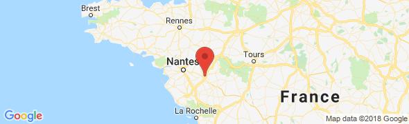 adresse 2aj.fr, Cholet, France