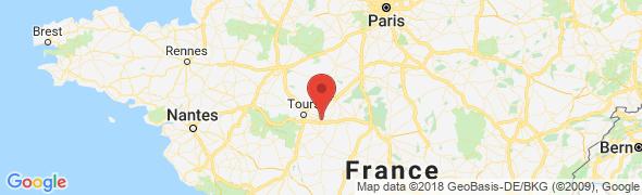 adresse location-gite-touraine.fr, Civray-de-Touraine, France