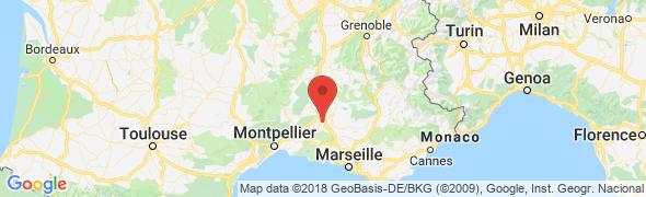 adresse osteopathe-avignon-roux.fr, Avignon, France
