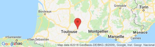 adresse geosat.fr, Albi, France