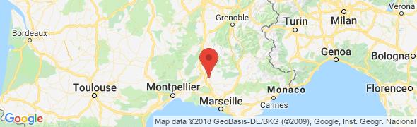 adresse lanesquiere.com, Pernes les Fontaines, France