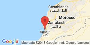 adresse et contact Le jardin d'eau, Agadir, Maroc