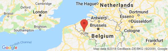 adresse kaloga.be, Mouscron, Belgique