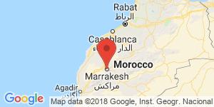 adresse et contact Le perroquet bleu, Marrakech, Maroc