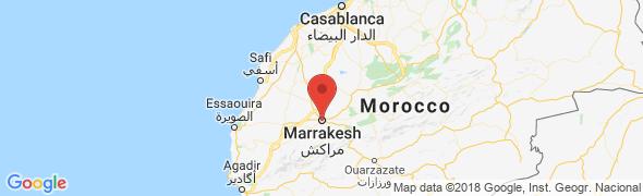 adresse riadjonan.fr, Marrakech, Maroc