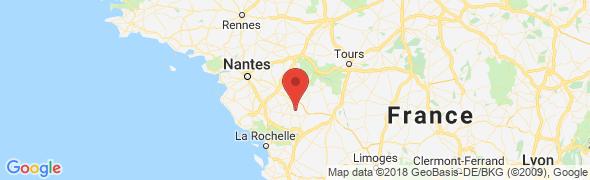 adresse la-table-de-fred.fr, Largeasse, France