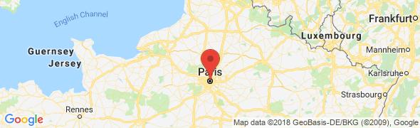 adresse bureauxparisnordest.com, Paris, France