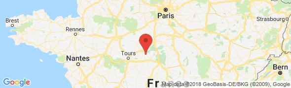 adresse agenceimmobilierecourcheverny.fr, Cour-Cheverny, France