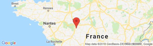 adresse allo-chambres-dhotes.com, Bossée, France