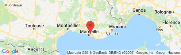 adresse parapharmacie-centrale.com, Plan de Cuques, France