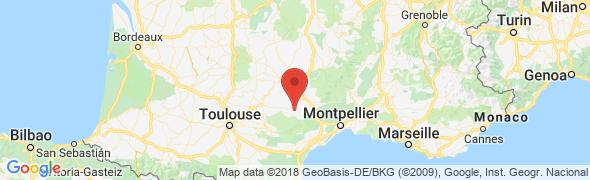 adresse chateaudurougier.com, Camarès, France