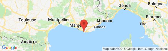 adresse coursdevoile.com, Sanary sur Mer, France