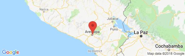 adresse inkafestravelperu.com/frances, Arequipa, Pérou