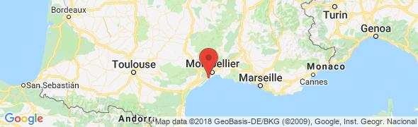 adresse les-roseaux.ma4way.net, Frontignan, France