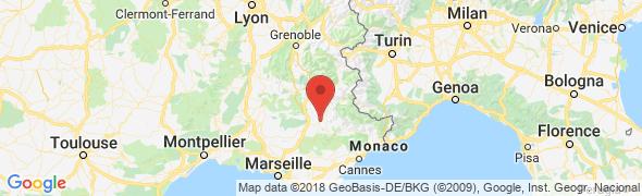 adresse geometre-clement-carlavan.com, Digne-les-Bains, France