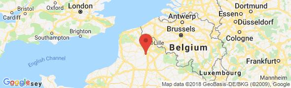 adresse geometres-caron-briffaut.com, Arras, France