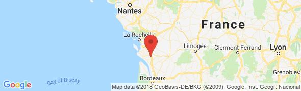 adresse l-ateliergourmand.com, Thénac, France