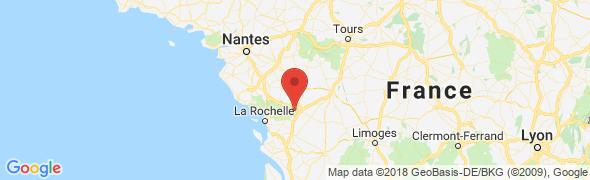 adresse couleurbleue.com, Niort, France