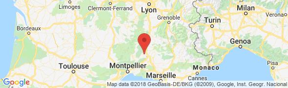 adresse construction-maisons-bleues.com, Bagnols sur Cèze, France