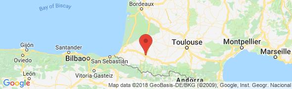 adresse hotel-pau.com, Serres Castet, France