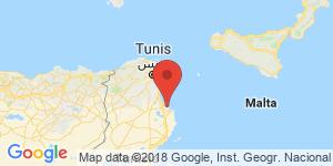 adresse et contact Hôtel Ruspina, Monastir, Tunisie