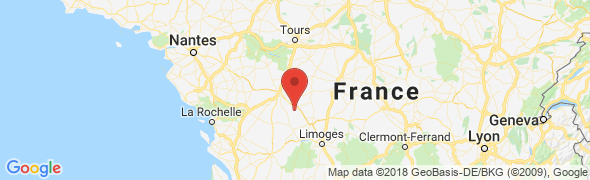 adresse domaine-de-la-bougriere.fr, Queaux, France
