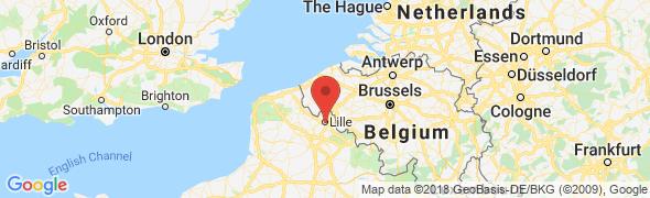 adresse livraison-pizza-lille.fr, Lille, France