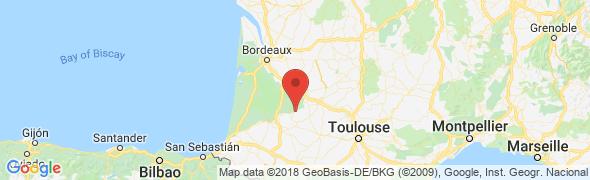adresse pension-dressage-landes.com, Escalans, France