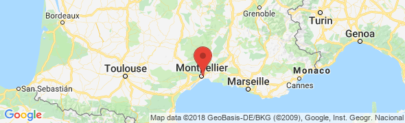 adresse geovarweb.com, Montpellier, France