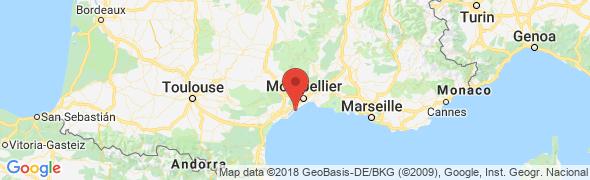 adresse crac.languedocroussillon.fr, Sète, France