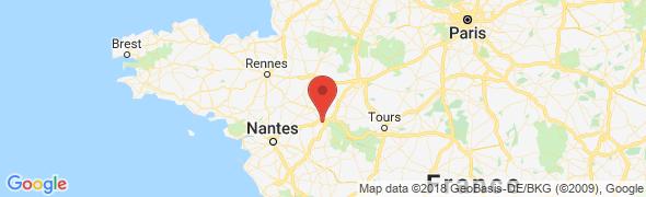 adresse ducotedelaporcelaine.com, Angers, France