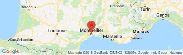 adresse osteopathe-montpellier-antigone.fr, Montpellier, France