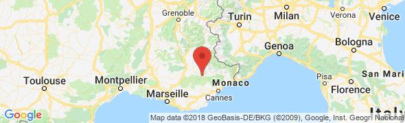 adresse gite-de-la-baume.com, Castellane, France