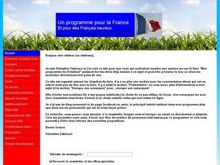 http://unprogrammepourlafrance.fr/