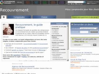 http://recouvrement.comprendrechoisir.com/
