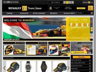 http://store.renaultf1.com/