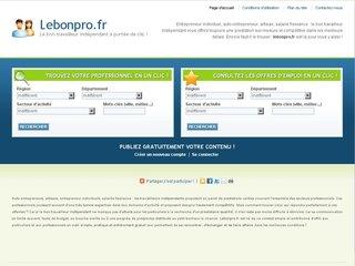 http://www.lebonpro.fr/