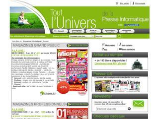 http://www.magazines-informatique.com/