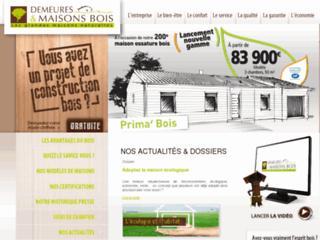Constructeur demeures et maisons bois poitiers demeures for Constructeur maison contemporaine poitiers