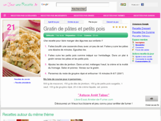 http://www.unjourunerecette.fr/