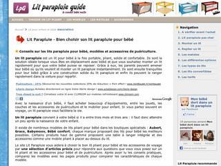 http://www.lit-parapluie-guide.fr/