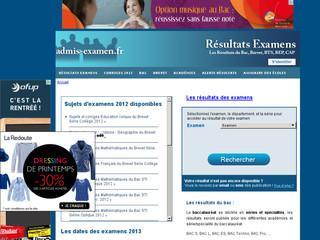http://www.admis-examen.fr/