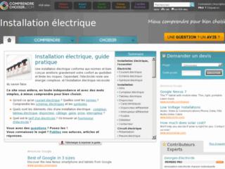 http://installation-electrique.comprendrechoisir.com/