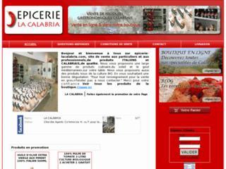 http://www.epicerie-lacalabria.com/