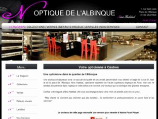 http://www.optiquedelalbinque.com/