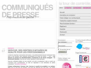 http://www.communique-de-presse.info/