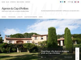villa cap d 39 antibes. Black Bedroom Furniture Sets. Home Design Ideas