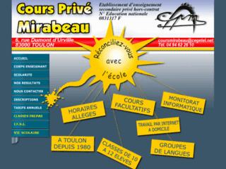 http://www.coursprivemirabeau.net/