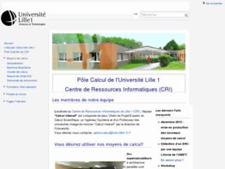 http://calcul-wiki.univ-lille1.fr/