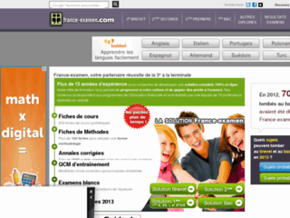 http://www.france-examen.com/
